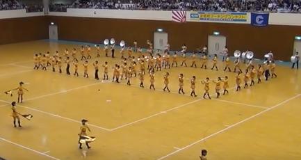 京都橘高校吹奏学部 オレンジの悪魔 2013年京都府マーチング
