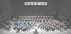 京都橘高校 ブラスコンサート2016吹奏楽祭京都