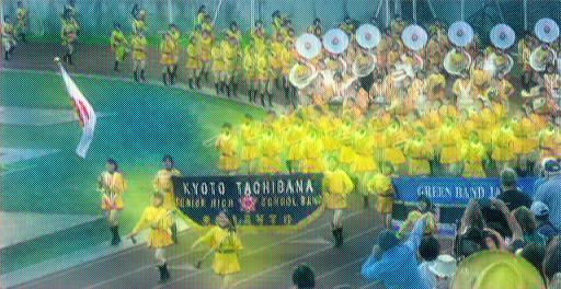 京都橘高校吹奏学部|オレンジの悪魔 ローズパレード