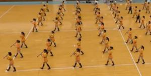 京都橘高校 マーチング