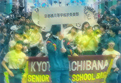 京都橘高校吹奏楽部|2019'第18回さくらパレードのセットリスト